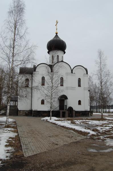 храм Святой блаженной Ксении Петербургской в д. Жабино