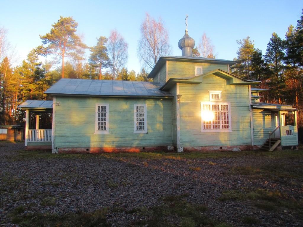 храм Иоанна Кронштадтского Вырица